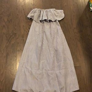 Tuckernuck strapless dress NWOT
